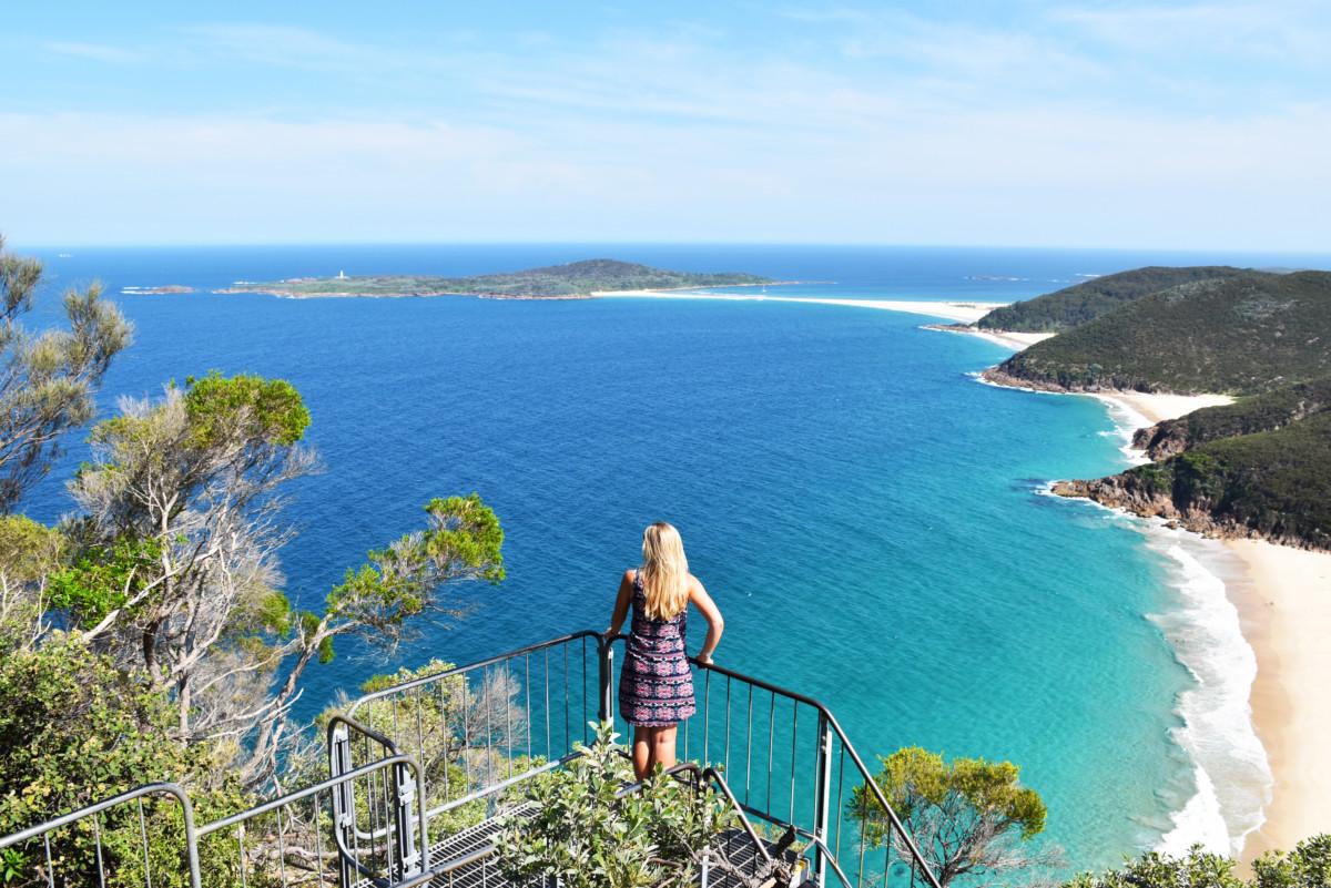 Australia Port Stephens Mount Tomaree
