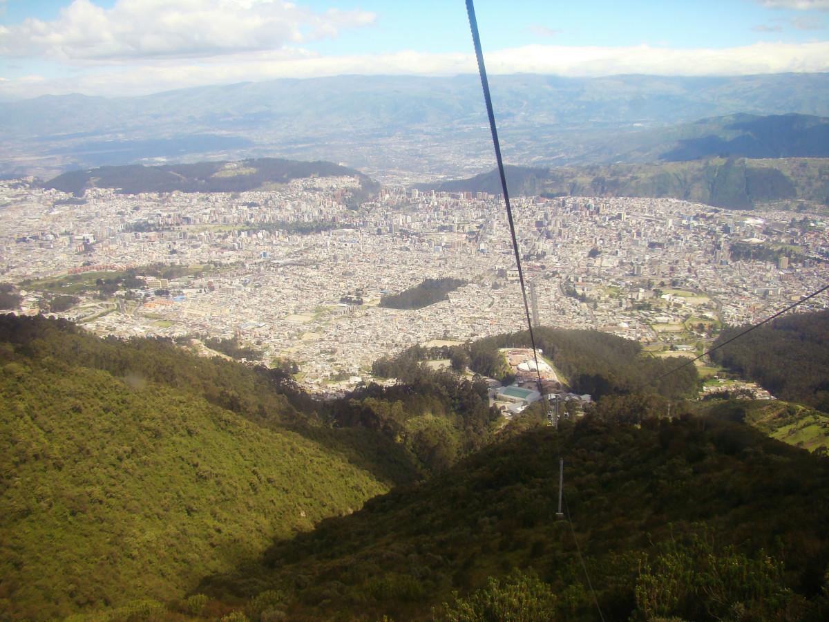 Quito Skyrail or TelefériQo, Ecuador