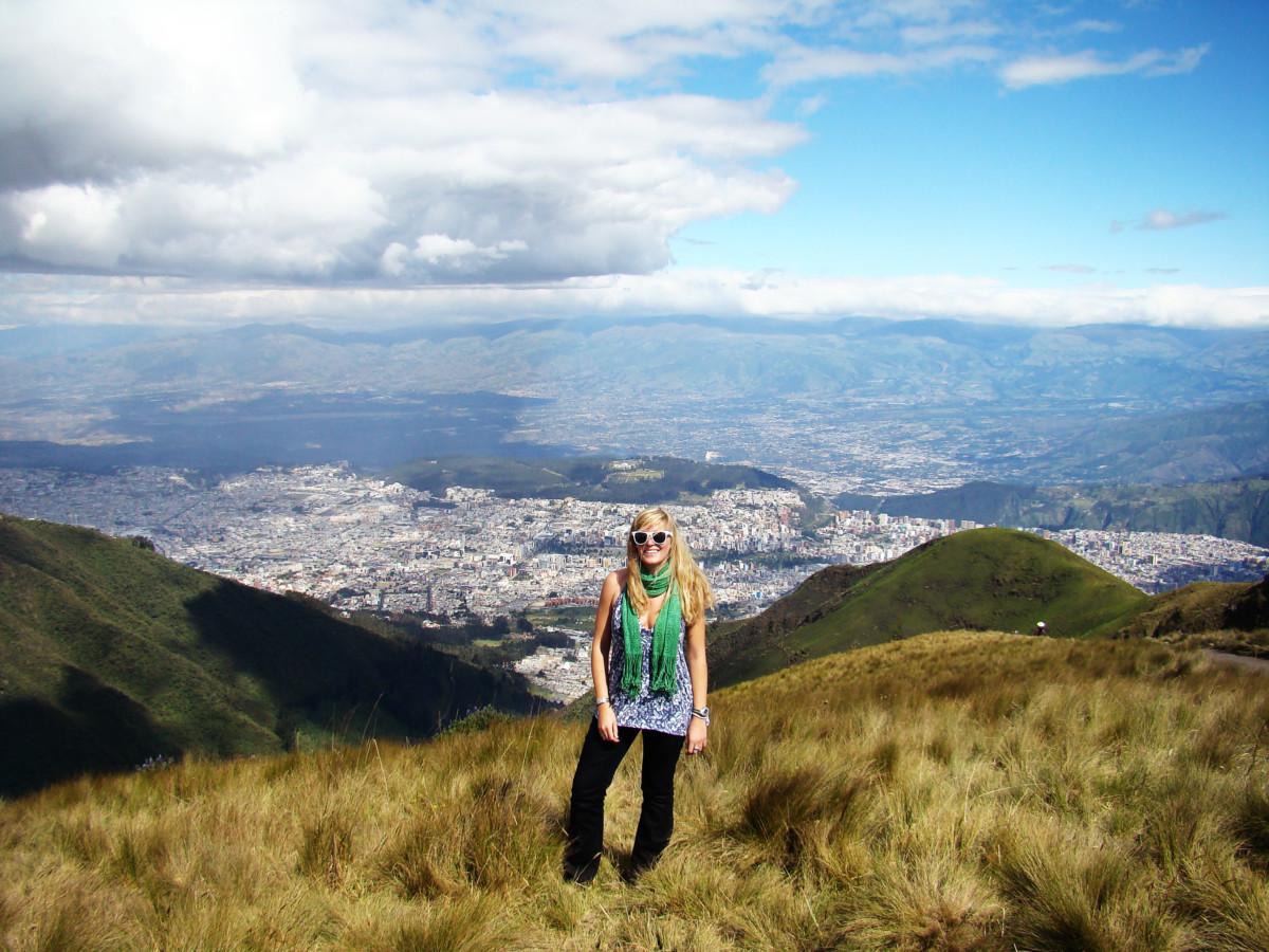 Panorama Quito, Ecuador
