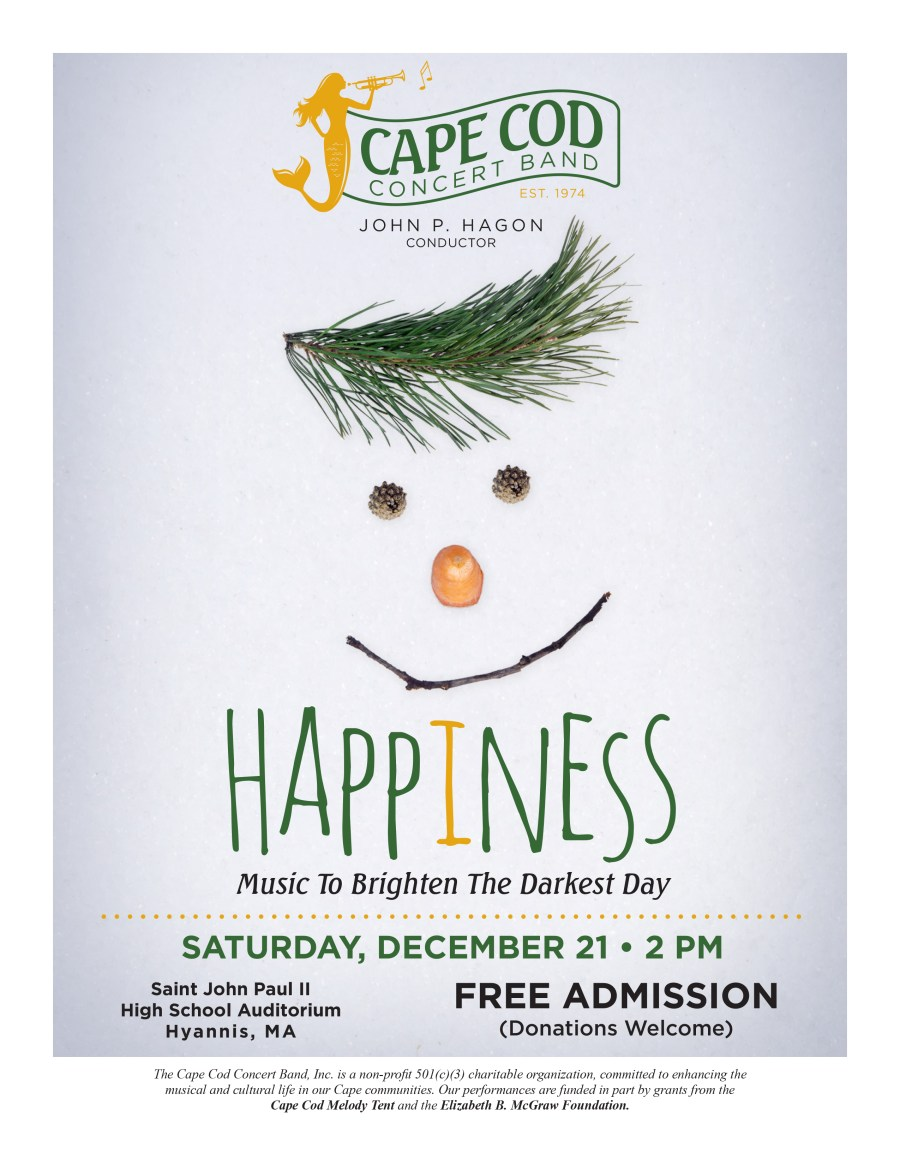 Happiness - Saturday, December 21, 2019 2:00 PM