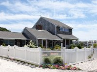 Vinyl Baluster Fence - Cape Cod Fence Company