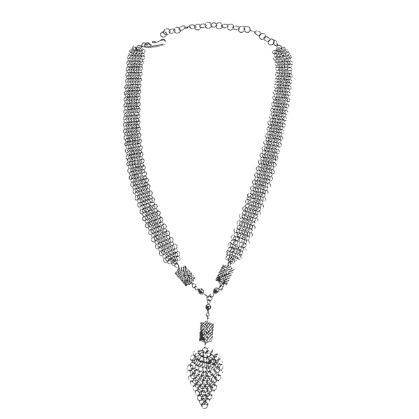 Cape Cod Barnacle Mesh Necklace-ccn214