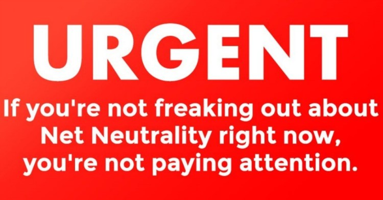 Urgent - Protect Net Neutrality