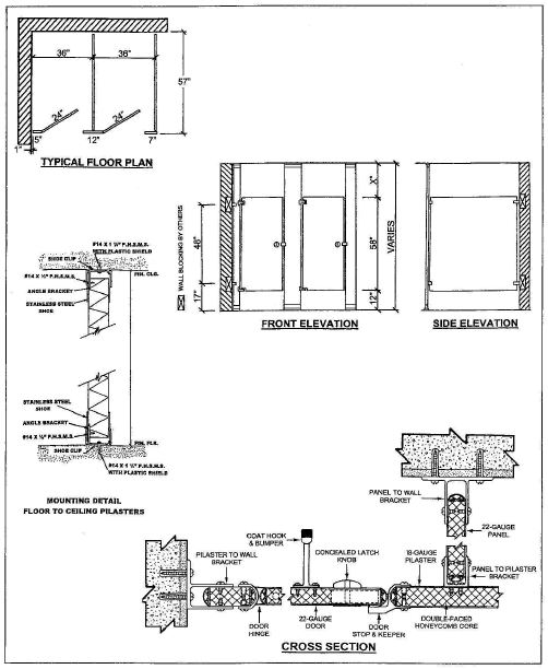 Ceiling Mounted Toilet Partitions Details Www