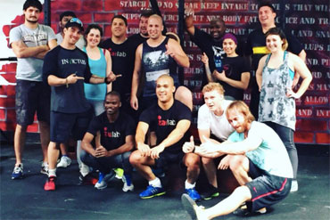 crossfit and fitness training