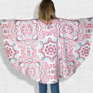 Women's Warm Fleece Poncho