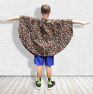 Hospital Gift for Child Fleece Puppy Poncho
