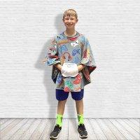 Hospital Gift for Child Fleece Poncho Cape