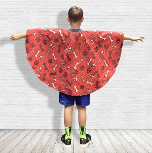 Fleece Poncho Cape