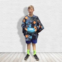 Hospital Gift Child Fleece Poncho Cape