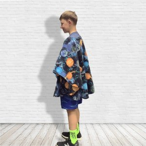 Child Hospital Gift Warm Fleece Poncho Cape