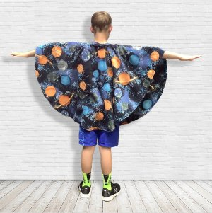 Child Hospital Gift Fleece Poncho Cape
