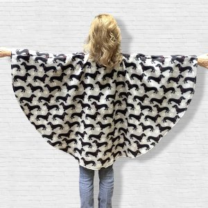 Fleece Poncho Cape Dachshund Wiener dogs