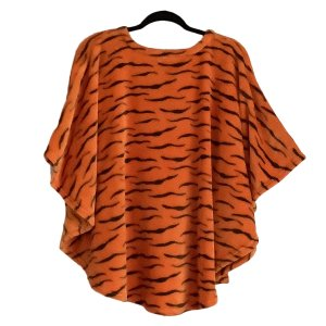 Child Hospital Gift Fleece Poncho Cape Ivy Tiger