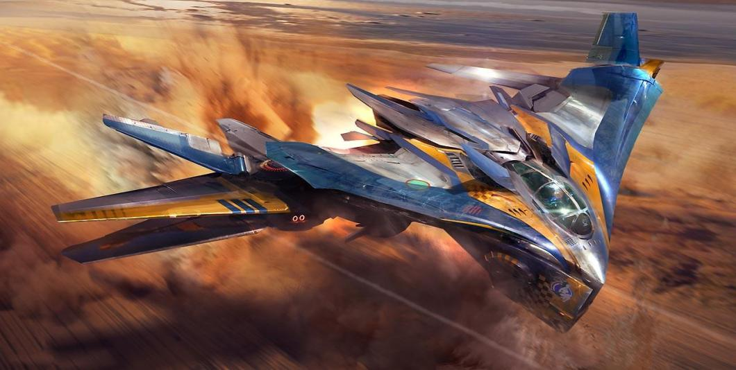 Concept art for the Milano in Guardians of the Galaxy