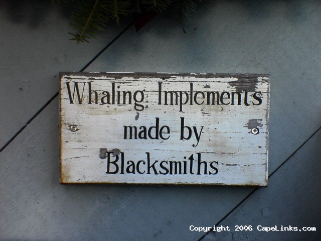 Whaling Implements made by Blacksmiths - from Capelinks.com