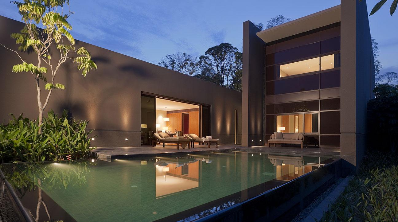 Sentosa Villas  Capella Hotel Singapore  Contemporary Manor