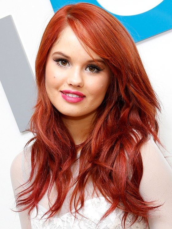 Long Red Color Hairstyle CapelliStyle