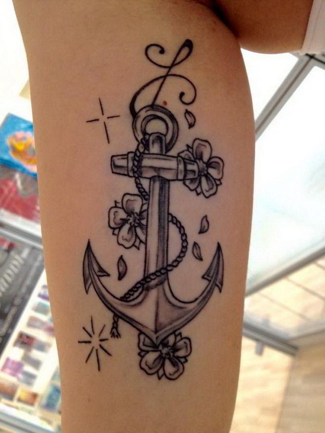 Tatuaggio ancora perch farlo e quale scegliere