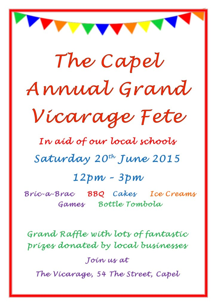 The Capel Annual Grand Vicarage Fete