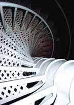 The spiral staircase appears more narrow than it proves to be on the gradual climb up. But watch out for visitors coming down, sharing the same space.