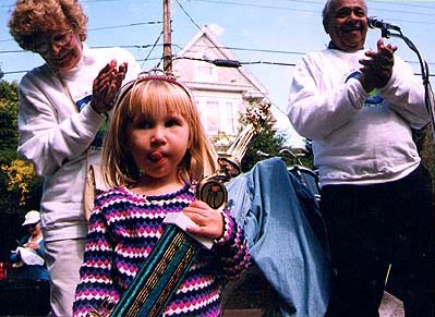 In 1999, at age 3, Izabela was the festival's youngest Queen of the Bean.