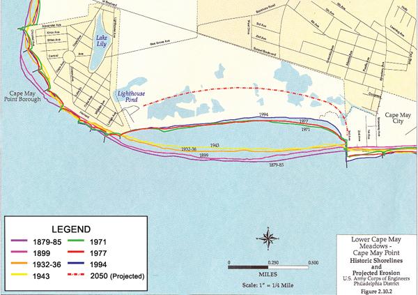 Cape May Beach Map beach map full | CapeMay.Blog