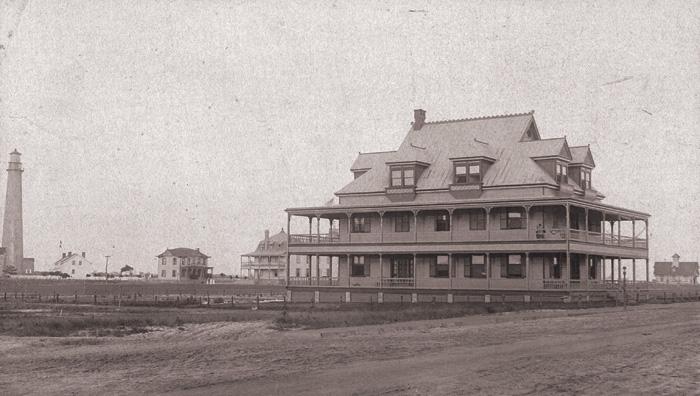President Benjamin Harrison home in Cape May Point, NJ