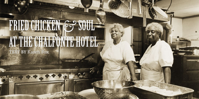 Fried chicken and soul at the Chalfonte Hotel