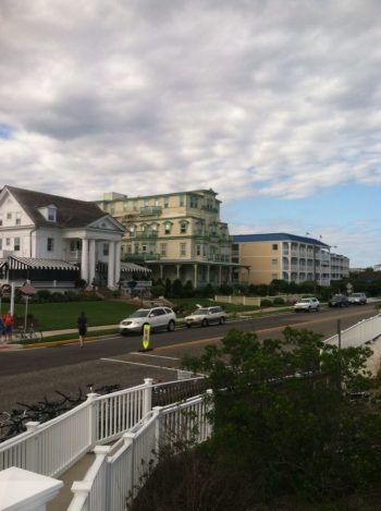 Middle building is the Morning Star Villa, where I got my Cape May start.