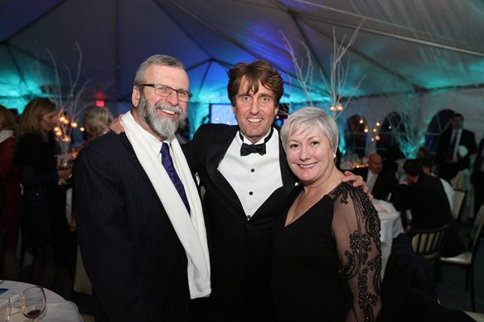 Host Curtis Bashaw joined guests at this year's Ice Ball to benefit the Fund for Cape May. The Ice Ball was held at Congress Hall Friday, Feb, 5th. Nearly $200, 000 was raised. (l-r) Jerry Hathaway, Curtis Bashaw, Kate Hathaway. Photo credit: Aleksey Photography