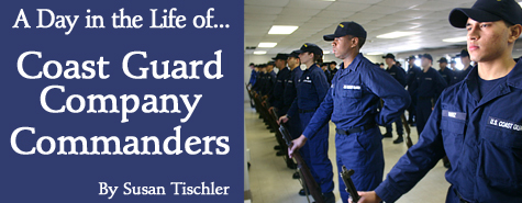 A day in the life of Coast Guard Company Commanders