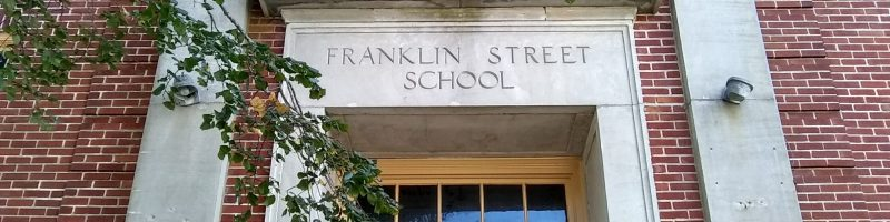 Exterior of the Franklin Street School