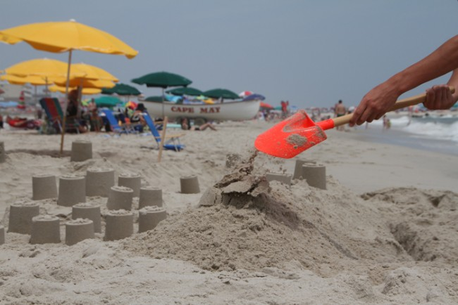Digging Cape May