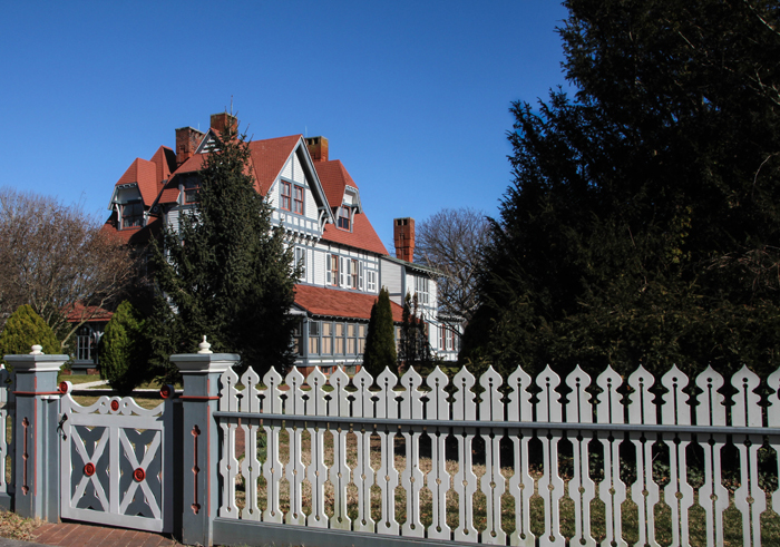 Strolling by the Physick Estate