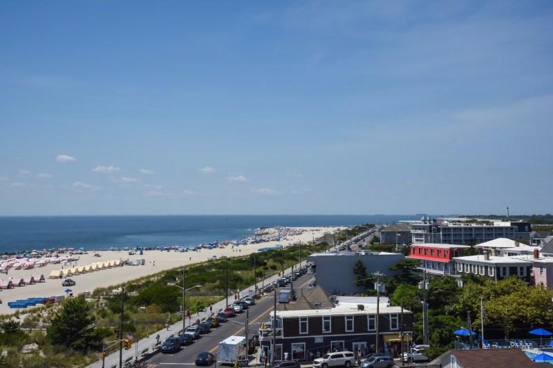Looking Down Beach Avenue