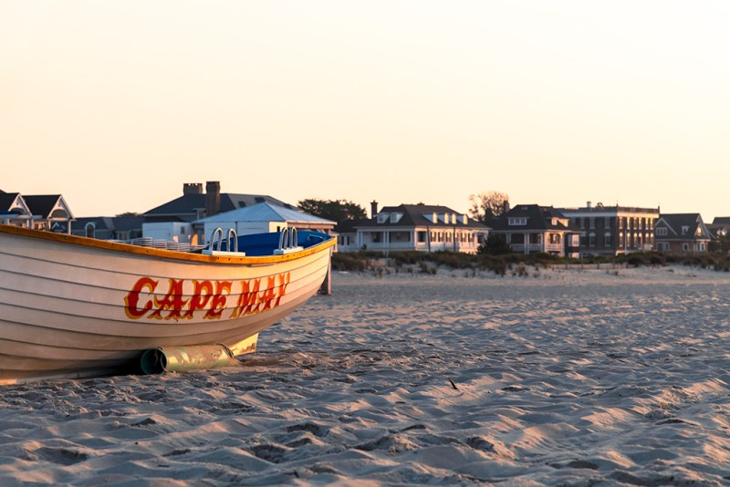 Sun Rising on Cape May