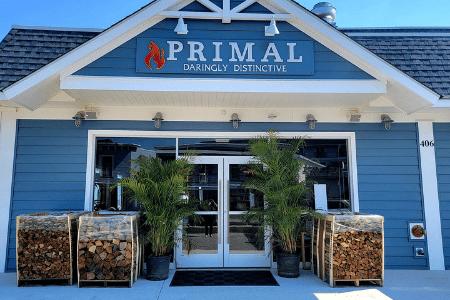 Primal restaurant entrance