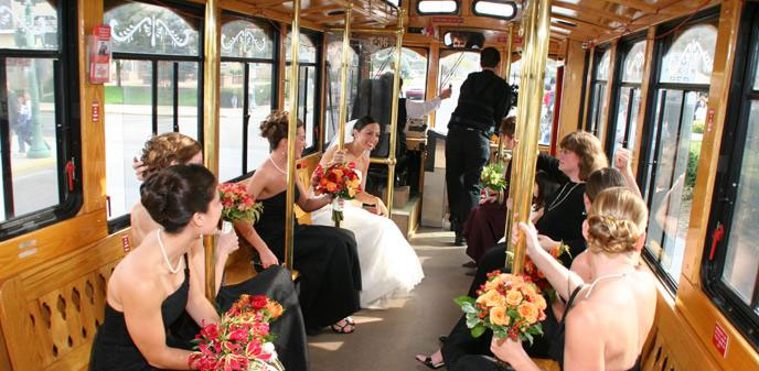 Great American Trolley Company  Cape May Beach Weddings  CapeMaycom