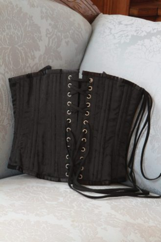 Two-piece corset