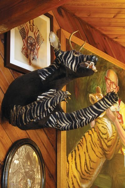The Jersey Devil as depicted at Menz Restaurant in Rio Grande