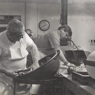 George Roth (left) and son Joe Roth