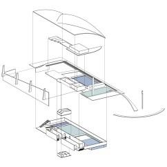 Exploded Axon Diagram Kia Rio 2005 Radio Wiring Pin Axonometric Drawing On Pinterest