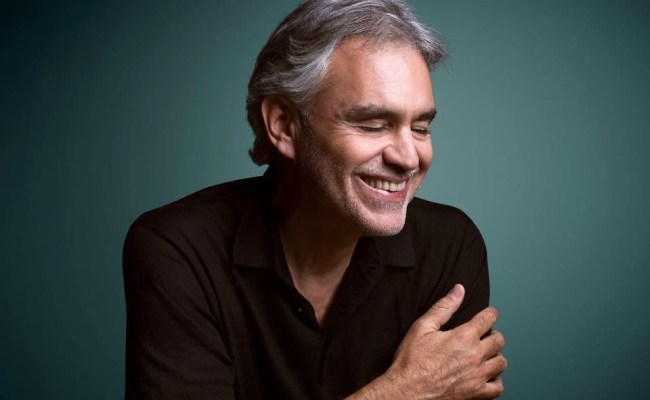 Andrea Bocelli Is Coming To South Africa