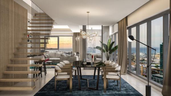 17029 dhk c01A 1 duplex apartment DRAFT 600x338 - New Cape building modelled after Rubik's Cube