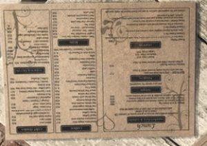Stoep Cafe menu 2