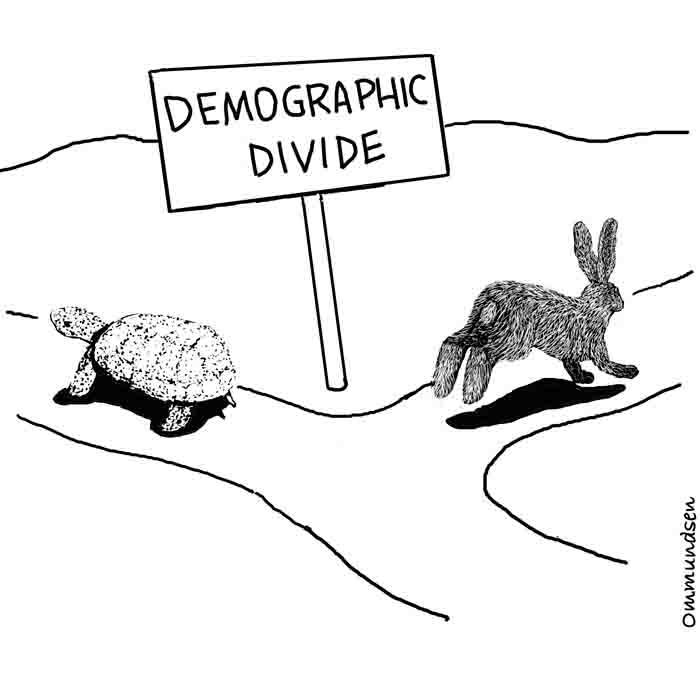 Cartoons Ecology Biology Environment Wildlife Nature