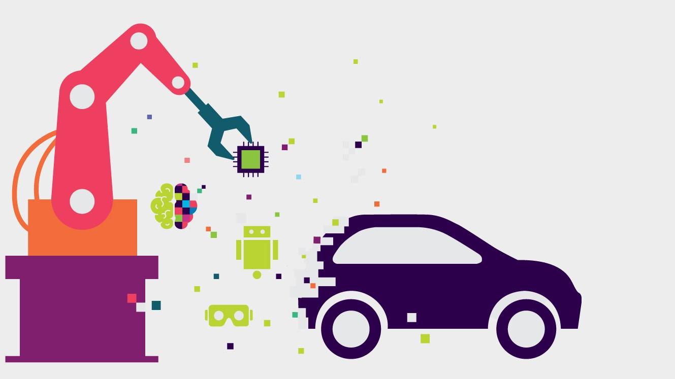 """Las fábricas inteligentes pondrán a los fabricantes de automóviles en la """"pole"""" de la revolución industrial digital"""