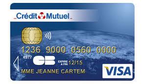 carte bancaire credit mutuel toutes