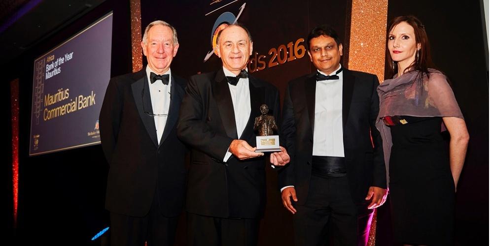 The Banker: La MCB rafle le prix du Bank of the Year 2016